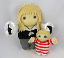 Jareth and Baby - commission by deridolls