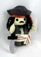 Jack Sparrow doll by deridolls