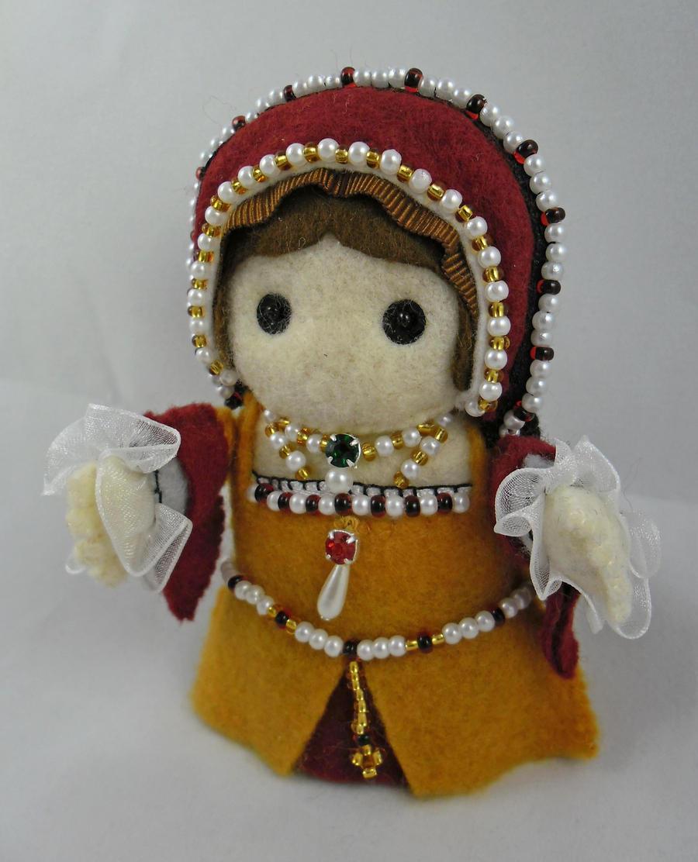 Mary Tudor by deridolls