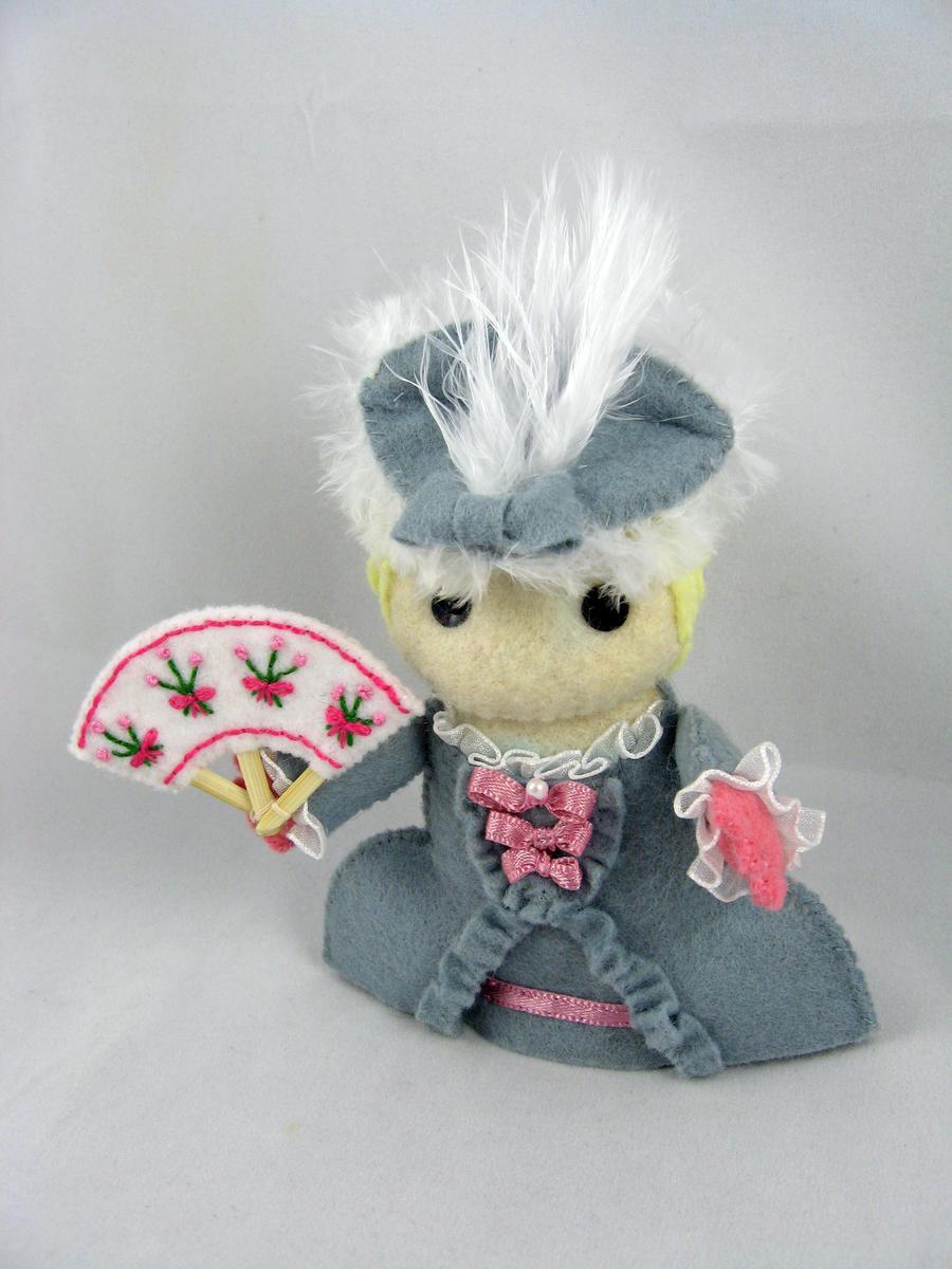 Marie Antoinette by deridolls