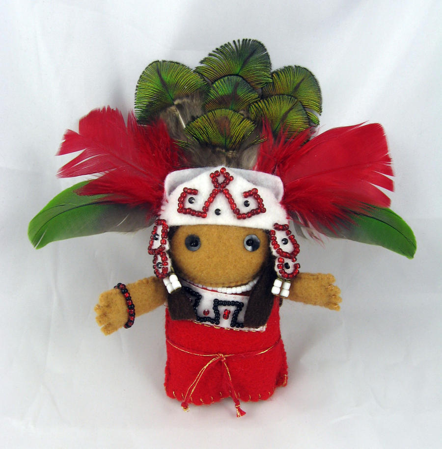 Aztec Princess by deridolls