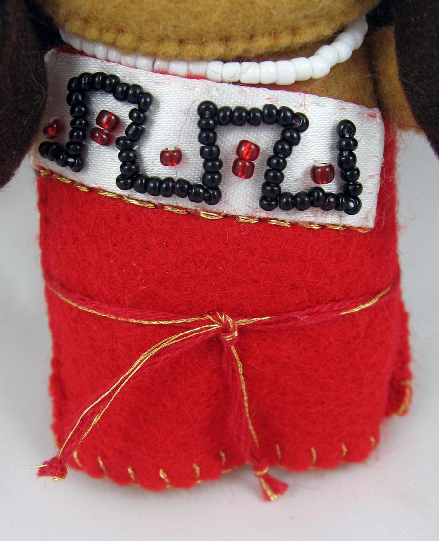 Aztec Princess - detail 2 by deridolls