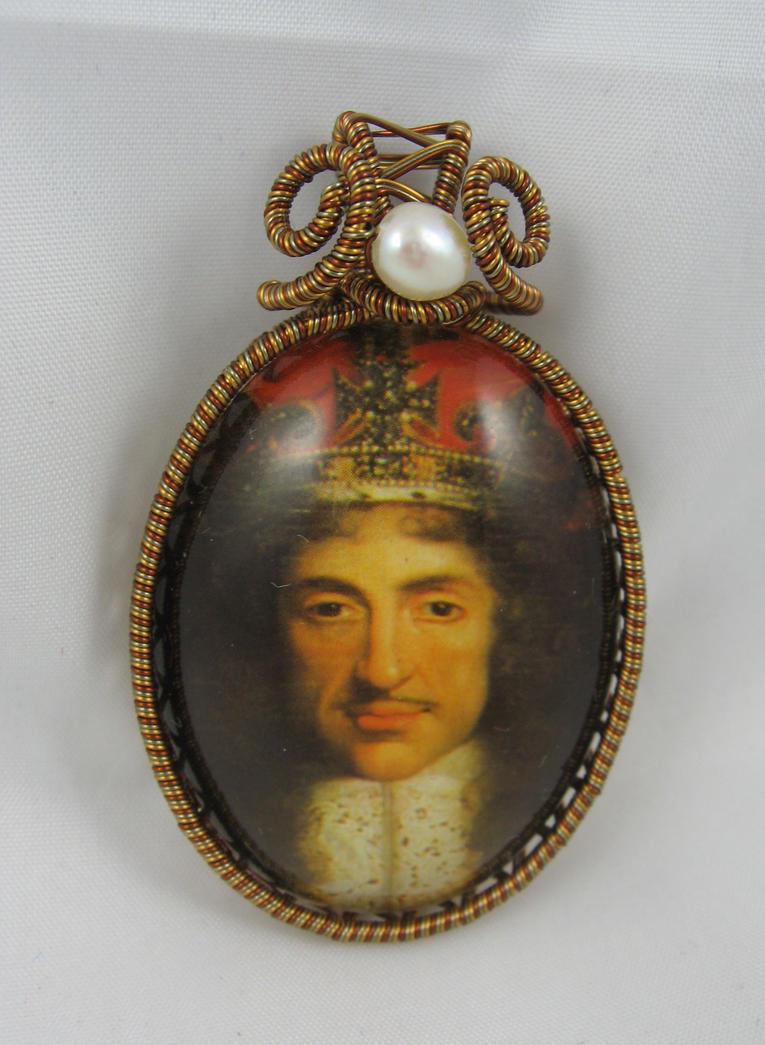 Charles II pendant by deridolls