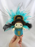 Mayan doll - commission by deridolls