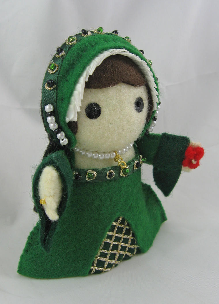 Anne Boleyn - green by deridolls