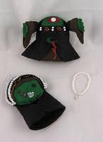 Zombie Anne Boleyn - pieces