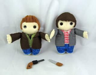 Supernatural - Sam and Dean by deridolls