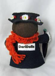 Mary Poppins - back by deridolls