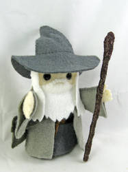 Gandalf by deridolls