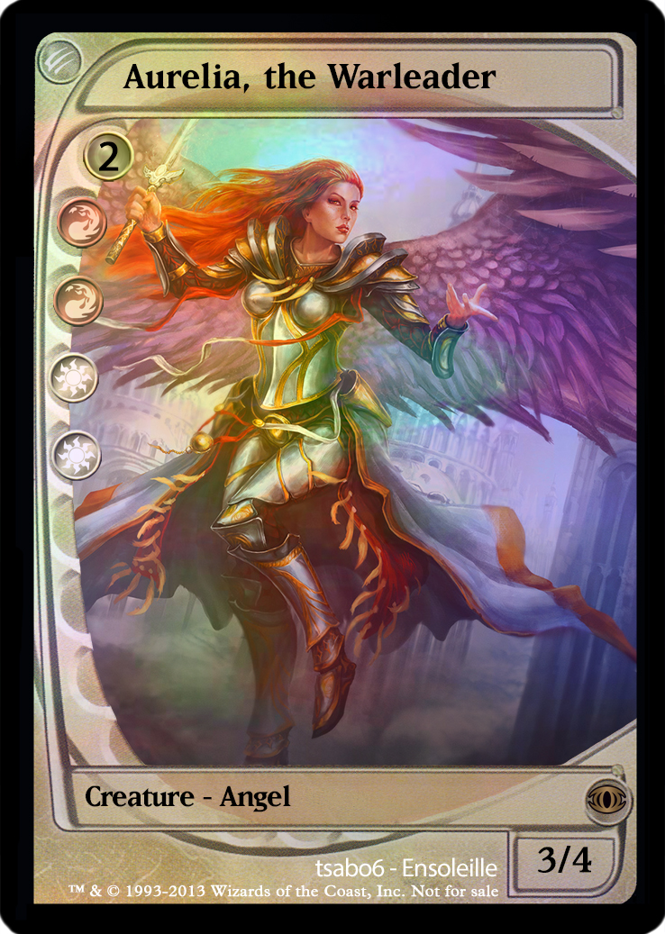 Magic the Gathering - Aurelia, the Warleader by ...