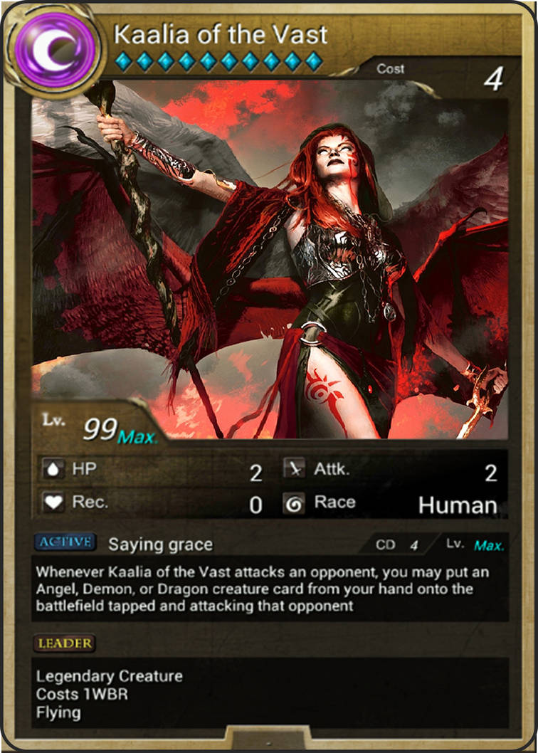Kaalia Of The Vast X Tower Of Saviors V1 0 By Asliceofunagi On