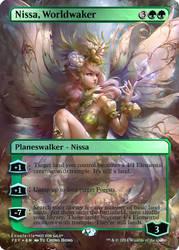 Magic the Gathering - Nissa, Worldwaker by ASliceOfUnagi