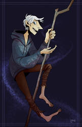 commission: jack frost by lindraws