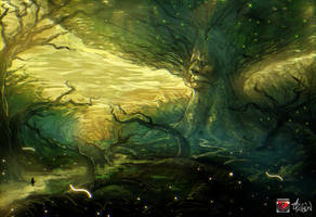 the great deku tree concept by Siga4BDN