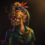 speedpaint video - majoras mask