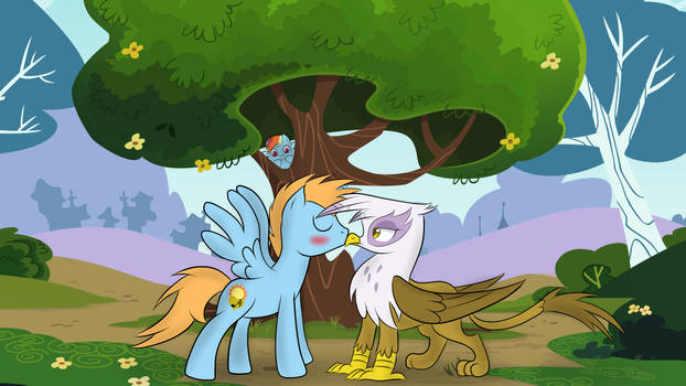 HarmonyStarmlp Request- Look before you kiss