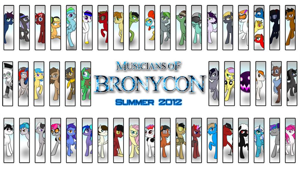 Musicians of Bronycon: Summer 2012 by Pustulioooooo