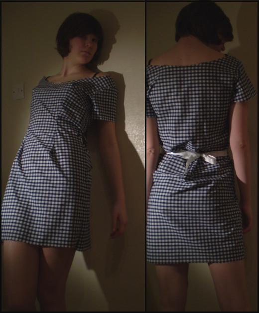 Check Summer Dress by Teapartyforgirls