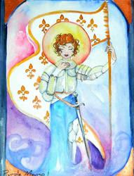 Joan of Arc by PurpleMango1