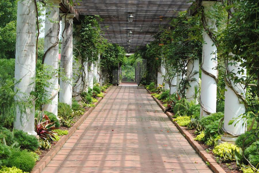 Serene walk through the garden by amyb62 on deviantart - When you walk through the garden ...