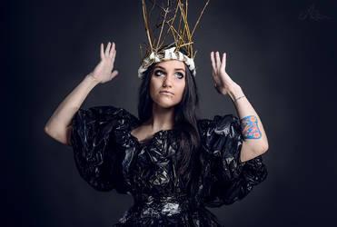 Garbage Madonna by Aliros