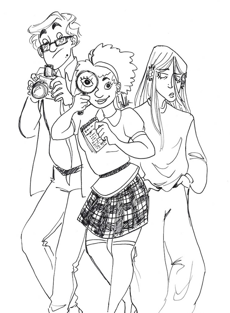 Teen Detectives by Ditchthesidewalk