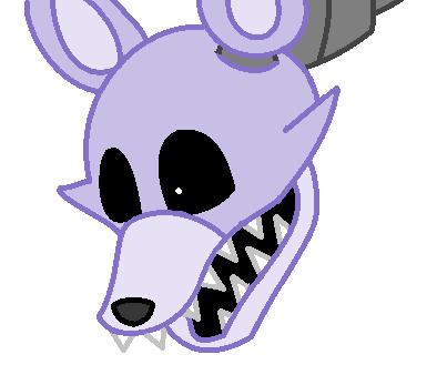 FNAF Base 12 - Fox/Wolf Head by Autistic-Zydrate