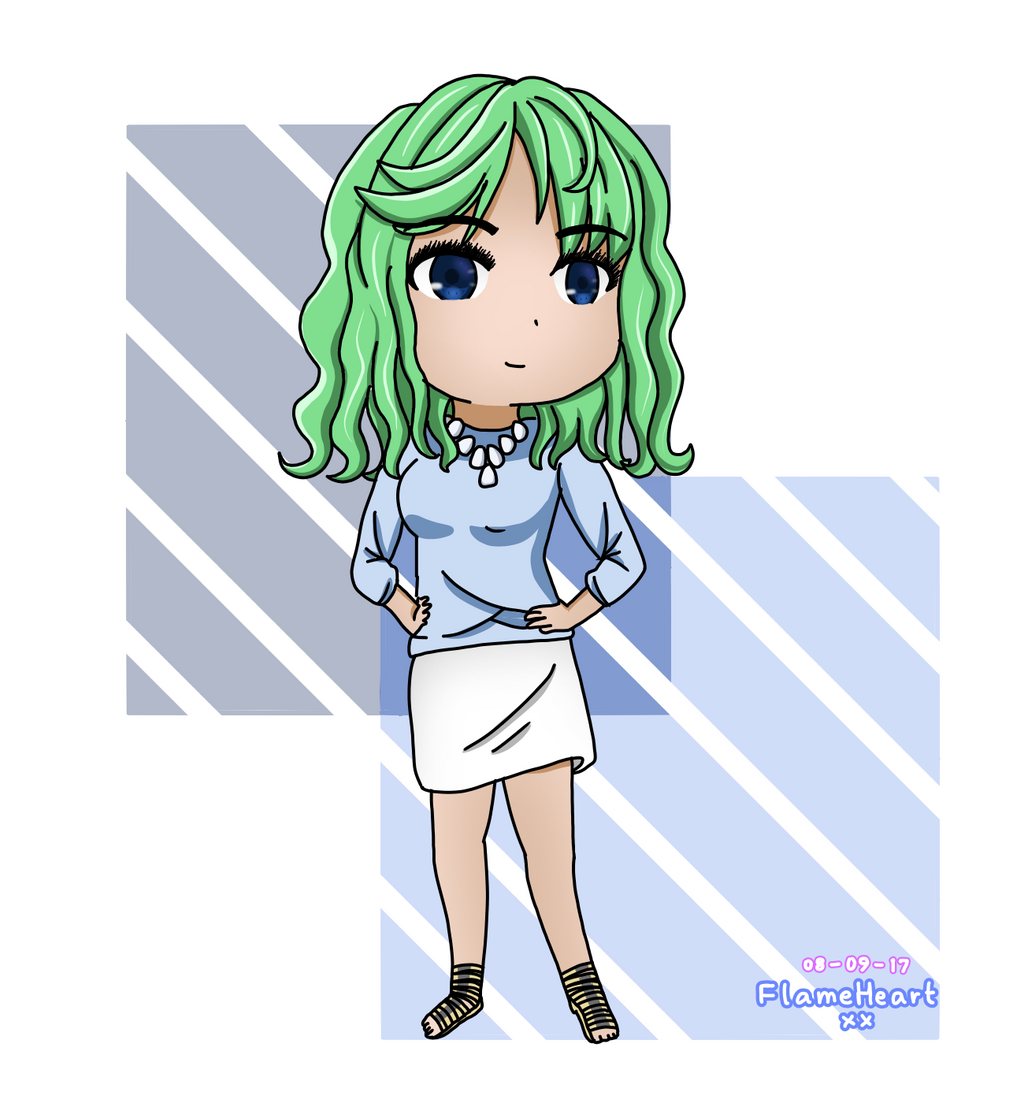 Chibi Drawing Request by FlameHeartxx
