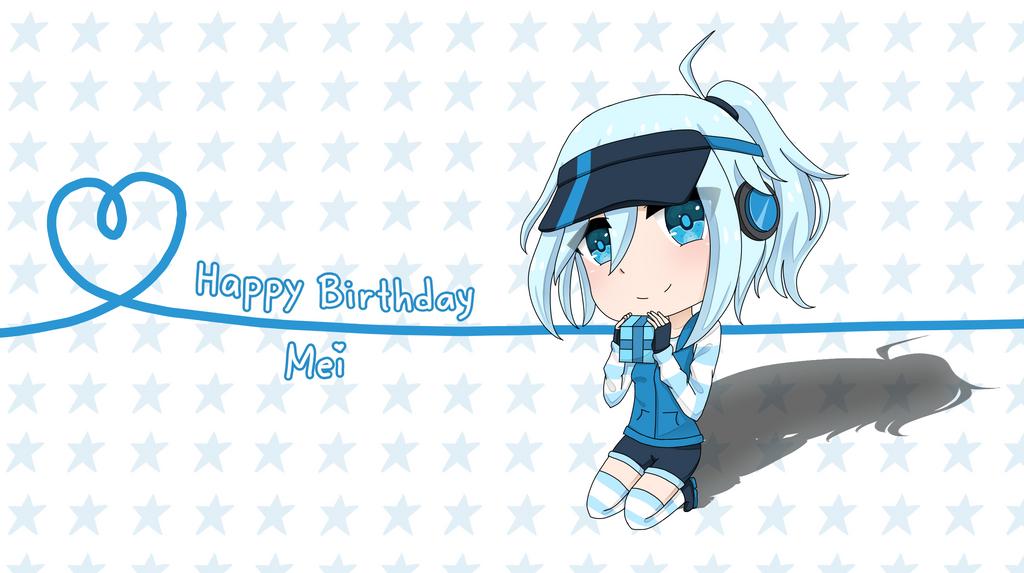Happy Birthday Mei! by FlameHeartxx