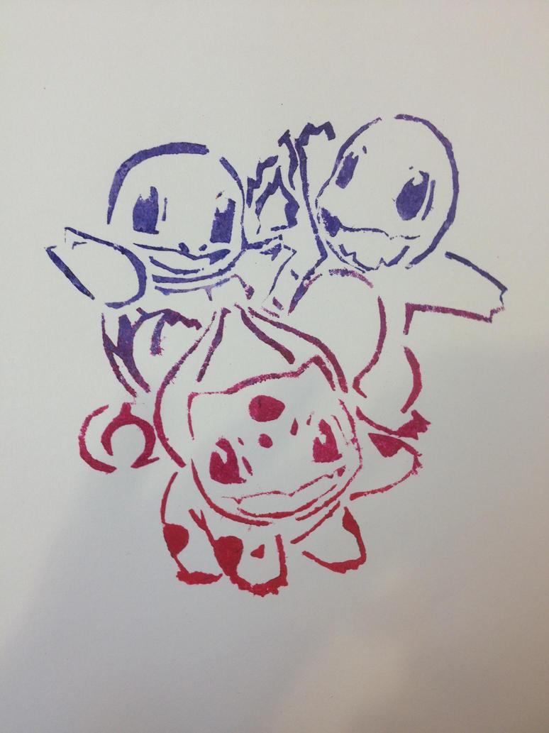 pokemon stencil 3 by gleamingshield on deviantart
