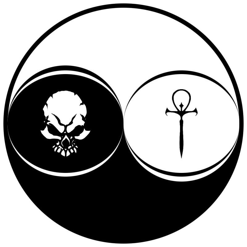life and death symbols
