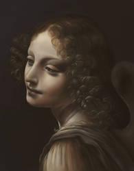 Virgin of the Rocks - Angel by Suraj28