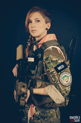 Bara I - US Army MEDEVAC Medic by DArkLOrd-Nikon