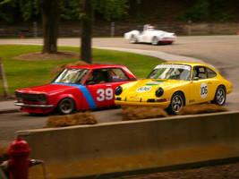 Datsun vs Porsche by Lucky13lost
