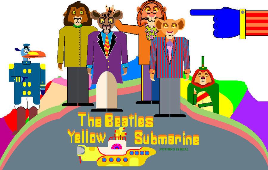 Yellow Submarine by damianagalangal on DeviantArt