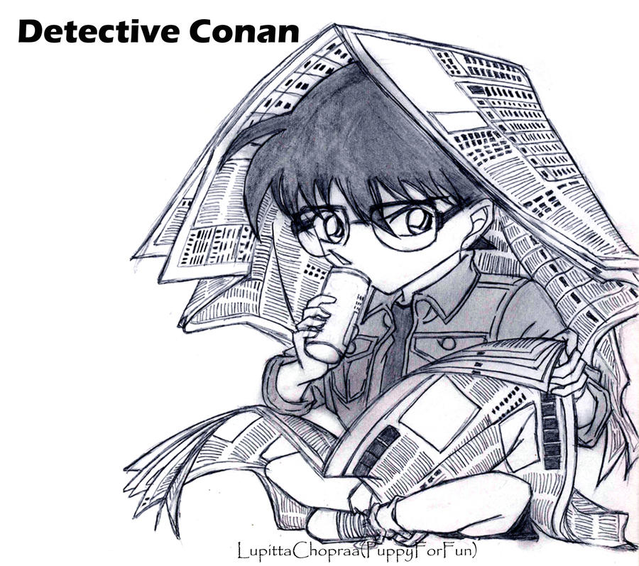 Detective Conan by LupittaChopraa
