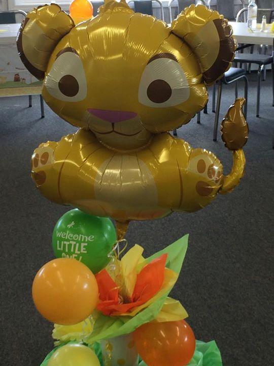 Baby Shower Simba Balloon By KittyCatTsubaki ...