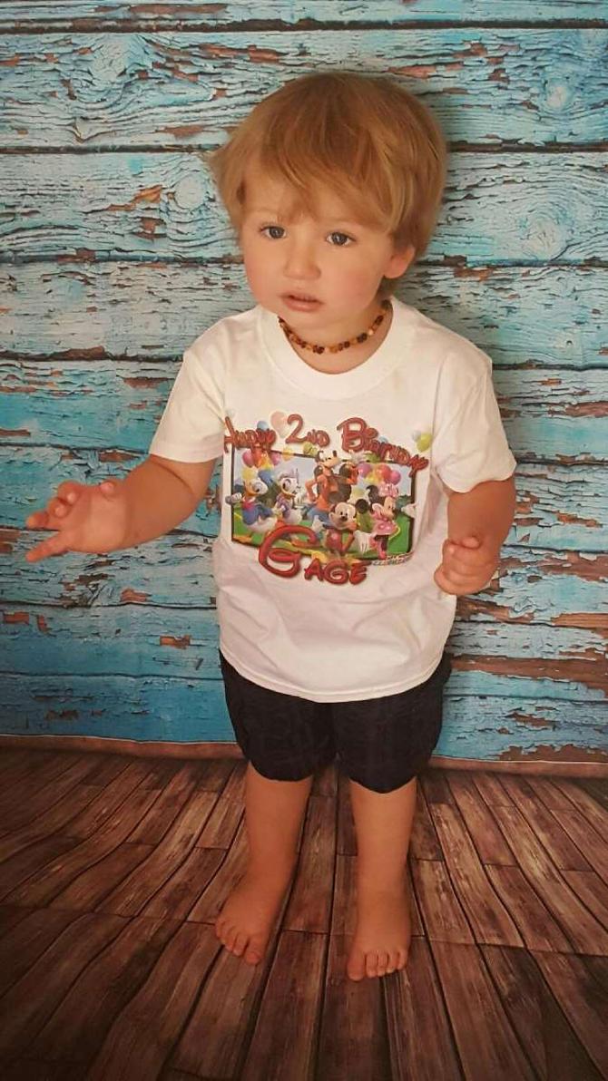 Happy 2nd Birthday Boy Shirts