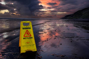 Warning Wet Floor by sculpted1