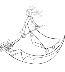 Maka and Soul Lineart