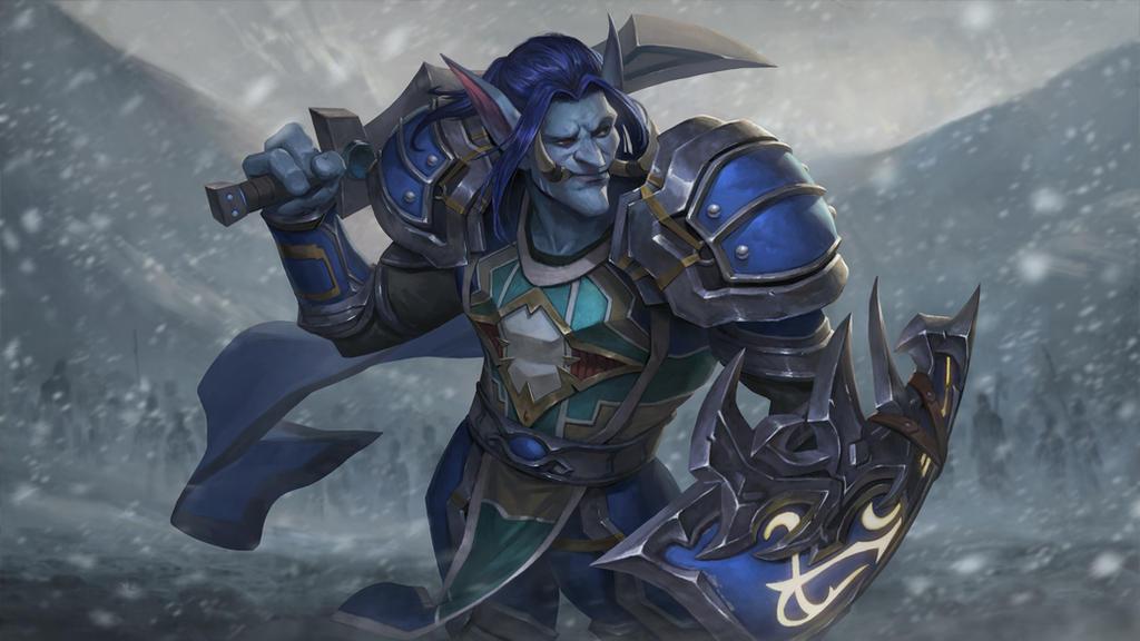 Troll Warrior by Nat10730