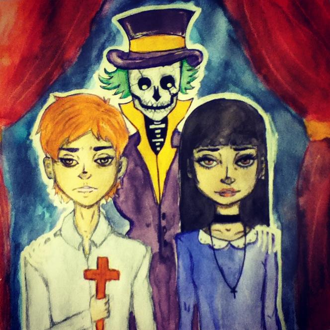 Spooky Skeleton. by Catnap2020