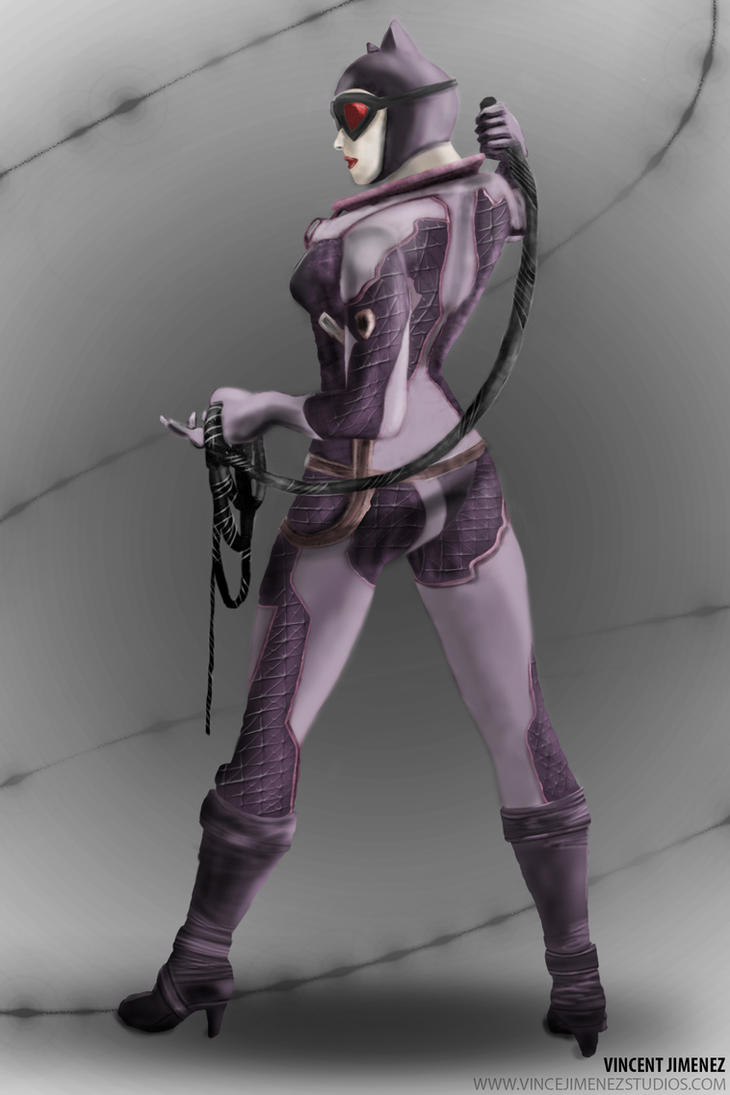 Catwoman by VinceJay