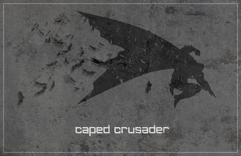 Caped Crusader by VinceJay