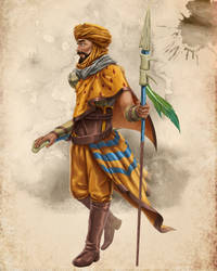 Dry-water warrior by hudinsantos