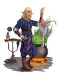 Elf cooker by hudinsantos