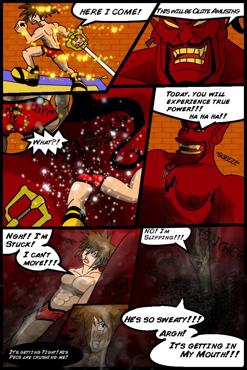 Sora Vs Hairy Jafar Part 2 by NomNommyy on DeviantArt