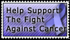 Cancer Stamp by CynthiaCynical