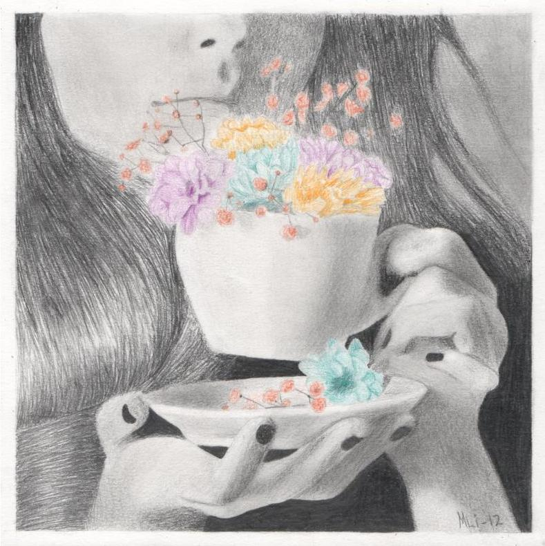 A cup of colour by MLiMLiMLi