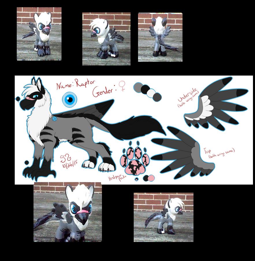 Raptor Griffin/Pony by Atomic52